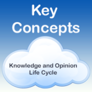 The Skooppa Knowledge and Opinion Lifecycle